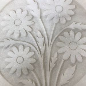 Vintage Kitchen - Marble Flower Potholder